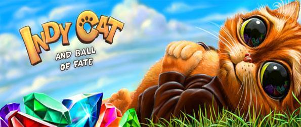 Indy Cat - Enjoy wonderful match 3 games as you help Indy the Cat get the Ball of Fate in this amazing new Facebook Game.