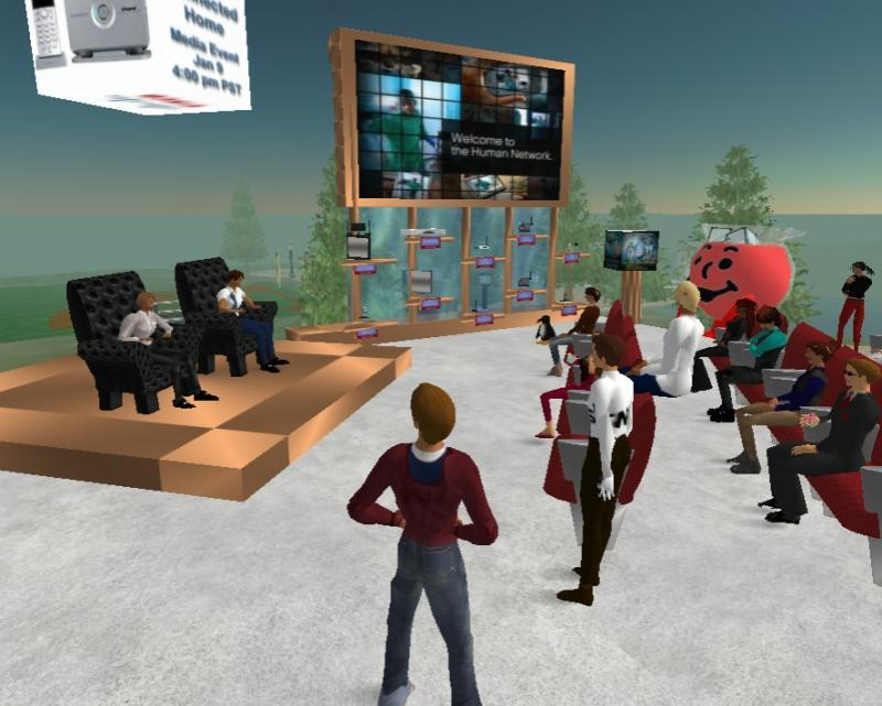 Second Life - Girl Games Town