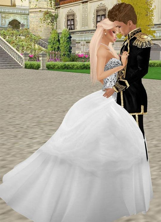 Gorgeous Wedding in IMVU