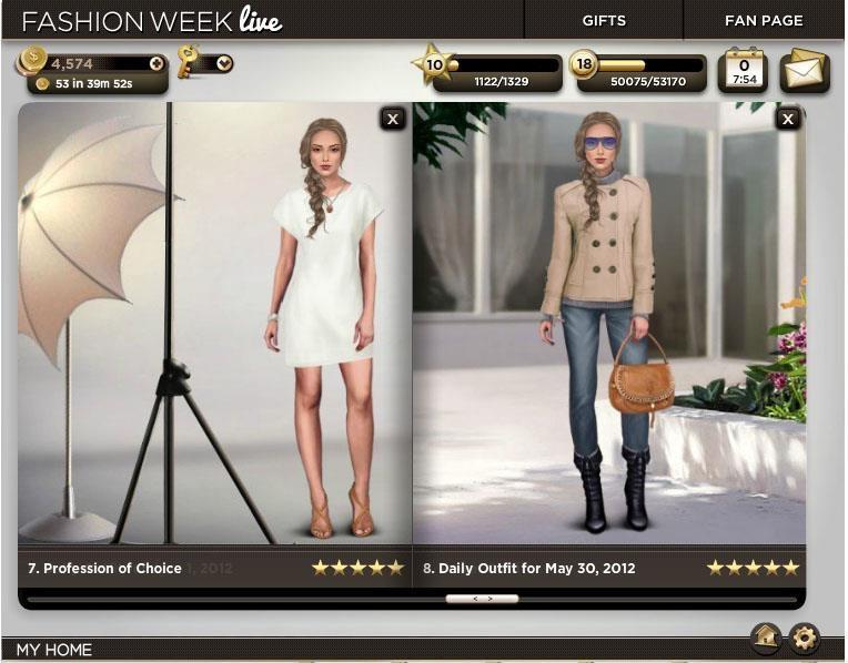 Fashion Week Live Glamour Square