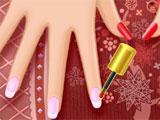 Anna's Nail Salon: Adding nail polish
