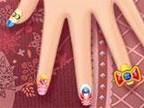 Creating your nail design in Anna's Nail Salon
