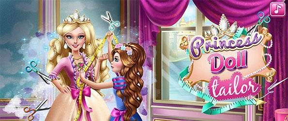 Princess Doll Tailor - Search for magical and special tools to complete the special dress for the one and only princess in this mini simulation game for kids!