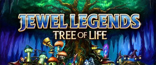 Jewel Legends: Tree of Life - Reconstruisez un monde endommagé dans un jeu étonnant du match 3 de qualité.