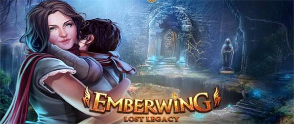Emberwing: Lost Legacy - Save your son Tevin from the great dragon that has taken him in this amazing hidden object game.