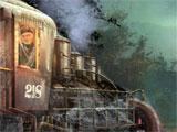 Web of Deceit: Black Widow Trapped Train