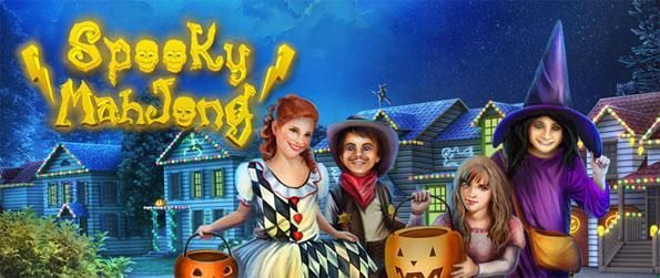 Spooky Mahjong - Enjoy a fun new twist on the classic Mahjong Game.