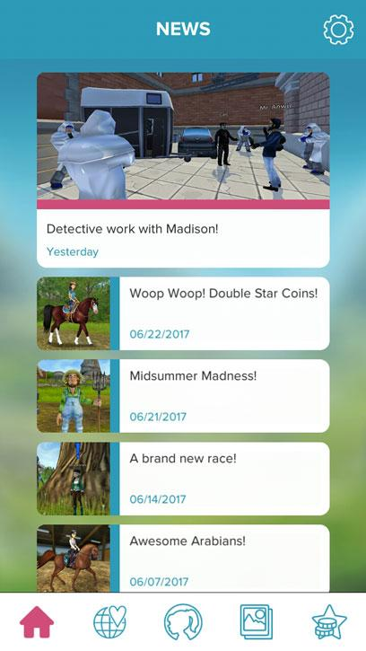 Get the latest news on Star Stable Friends