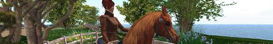 Koňské online hry - Best Horse Vendors in Second Life