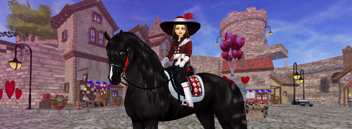 Star Stable: It's Valen-time in Jorvik!