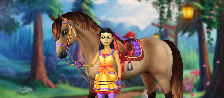 Egg Hunts and the Rainbow Race in the Sky Arrive in Star Stable