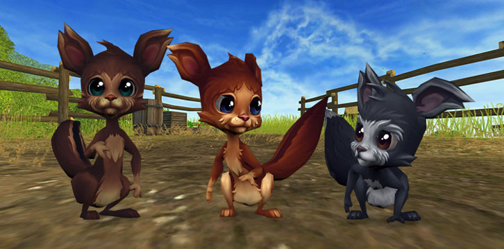 3 Brand-New Jorvegian Squirrels Added to Star Stable