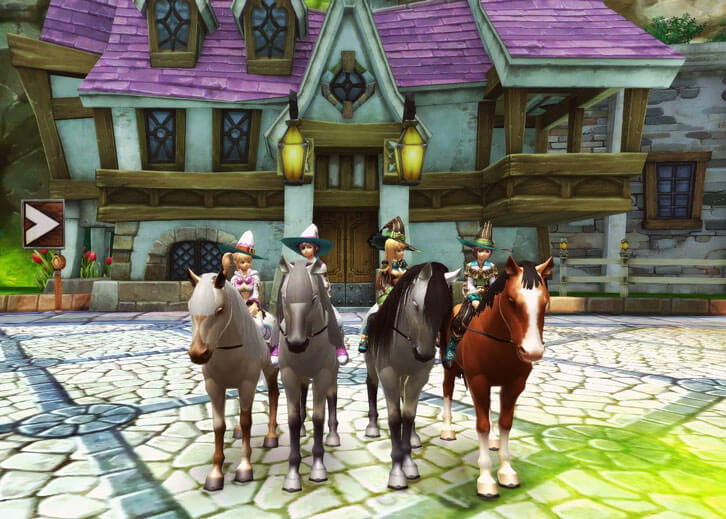 Play with Your Friends in This Amazing Horse MMO Game, Alicia Online!
