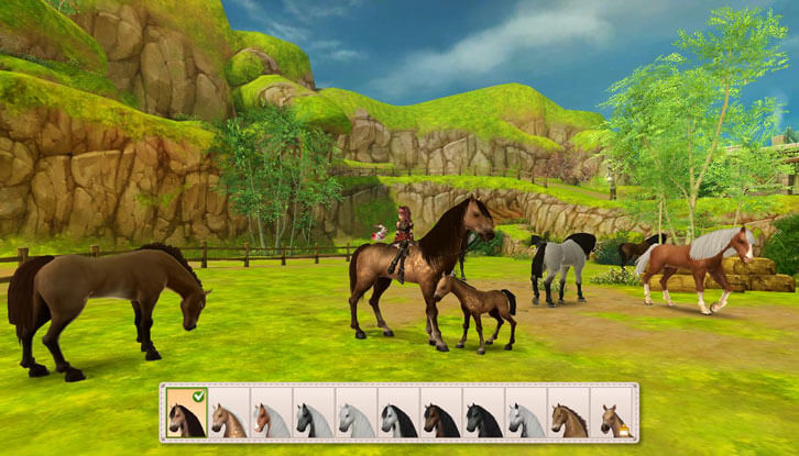 New Horse Slot Released in Alicia Online