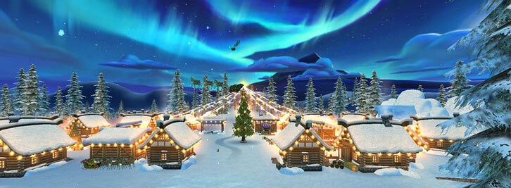 Visit Santa in His Winter Village in Star Stable