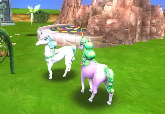 Magical Unicorns in Wizard 101