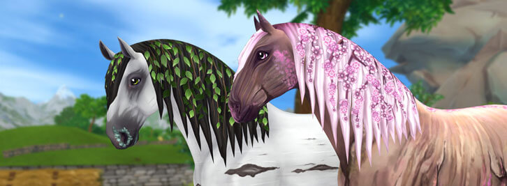 Star Stable Trailers: Brand-New Jorvik Wild Horses for the Summer of 2019