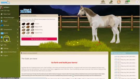 New Features to the upcoming Horse World Online