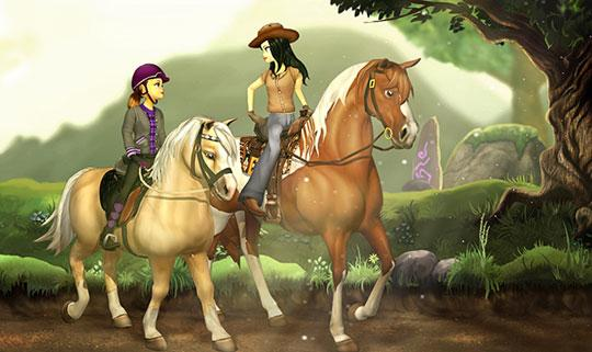 Make Friends in Star Stable
