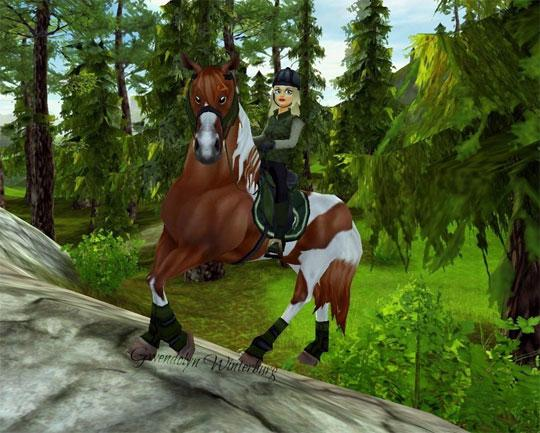 Forest Ride in Star Stable
