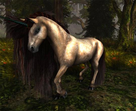 Forest Unicorn in Second Life