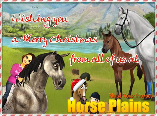 Merry Christmas and a Happy New Year from HorsePlains