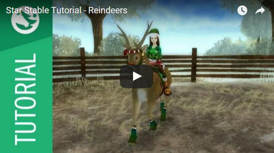 How to Turn Your Horse into a Reindeer in Star Stable