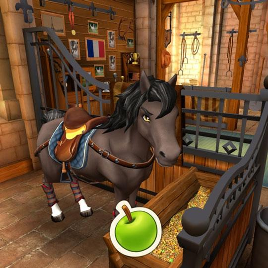 Feed Your Horse Some Treats in Horse Haven: World Adventures