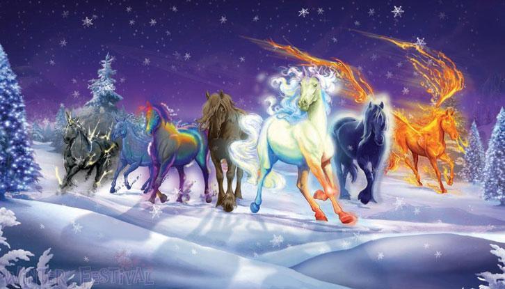 The Elemyn Herd in Bella Sara