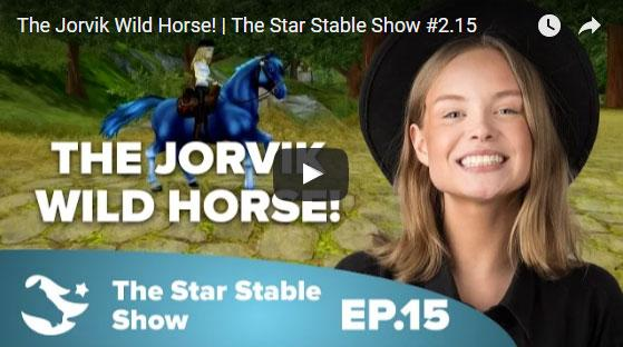 Color-Changing Jorvik Wild Horses for Only 399 Star Coins in Star Stable!
