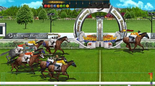 Racing in Stallion Race