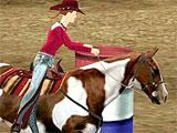 Barrel racing in Let's Ride: Corral Club