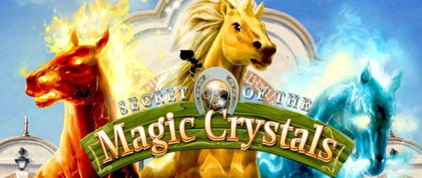 Secret of the Magic Crystals - Train, take care of and breed a wide variety of magical horses in this amazingly fun game, Secret of the Magic Crystals!