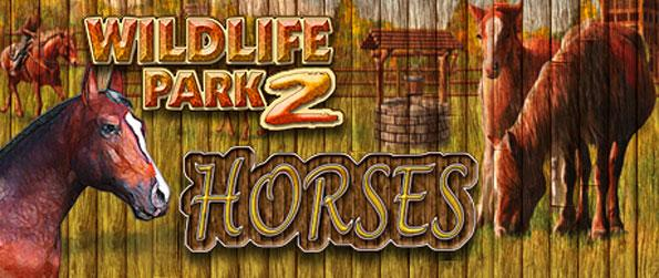 Wildlife Park 2 - Horses - Create the best wildlife park for your visitors and your horses in this fun-filled simulation game, Wildlife Park 2 - Horses!