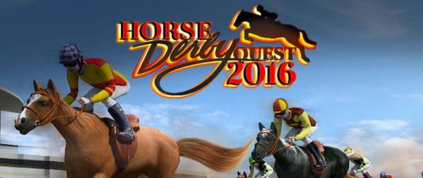 Horse Derby Quest 2016 - Overcome all obstacle challenges in this superb horse simulator.