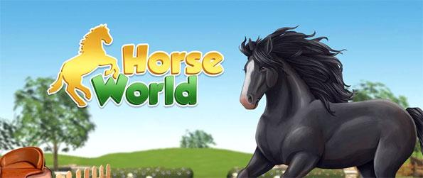 Horse World 3D: My Riding Horse - Enjoy this addicting horse game that'll immerse you in an awesome game world that's filled with fun activities.