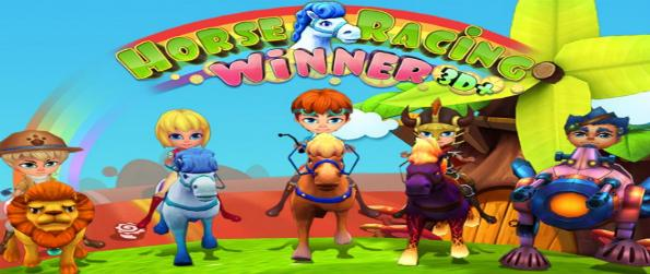 Horse Racing Winner 3D PLUS - Don't hold your horses in Horse Racing Winner 3D PLUS: raise your horses, gallop at full speed on the track, and be the victor.