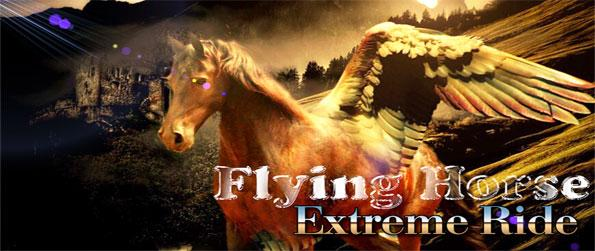 Flying Horse Extreme Ride - Soar across the skies in this phenomenal horse game that's a step above the rest.