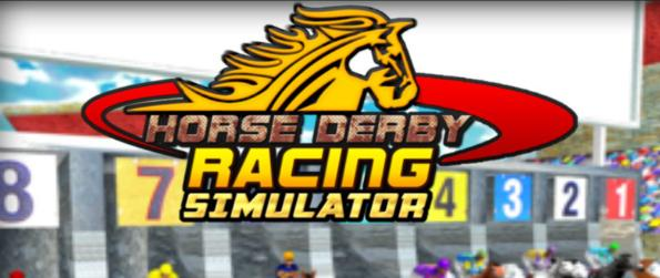 Horse Racing Derby Simulator 3D - Be a jockey in Horse Racing Derby Simulator 3D and compete in various races to bring home the top prize.