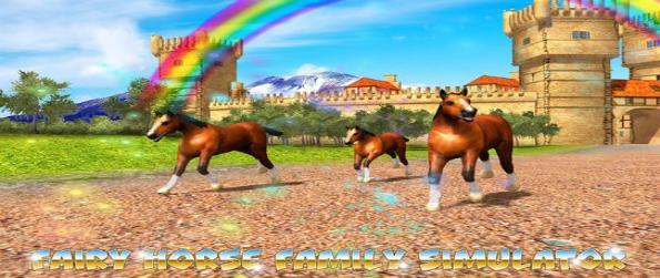 Horse Simulator: Magic Kingdom - Create a horse family in Horse Simulator: Magic Kingdom and live as a galloping beauty in a fantasy world.