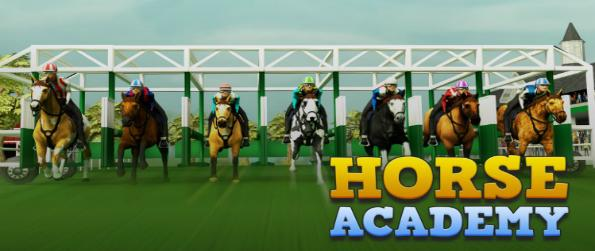 Horse Academy 3D - Compete against 64 other jockeys in Horse Academy 3D in a variety of events from racing, jumping, and time trials.