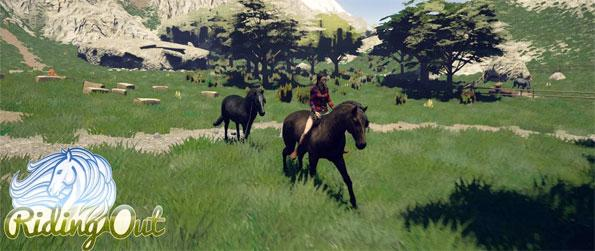 Riding Out - Set foot in an enormous game world that's filled with things to do.