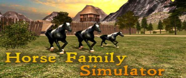 Horse Family Simulator - Behave like a horse in Horse Family Simulator: forget about being a human and live life running free!