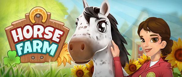 Horse Farm - Put your management skills to use now to develop your horse ranch and turn it into a paradise for both horses and riders alike!