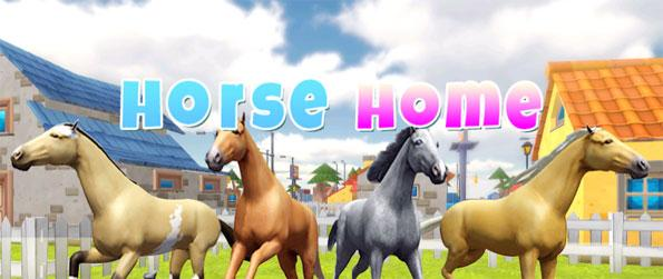 Horse Home - Play this addicting horse simulation game that has quite a lot to offer.