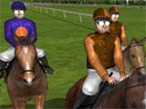 Jockey Rush: Riders getting ready
