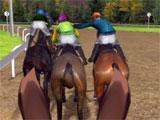Battle mode in Jockey Rush