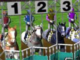 Ultimate Horse Racing 3D beginning of a race