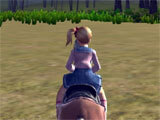 Horse Racing Game riding around the world