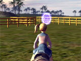 Horse Racing Game herding sheep